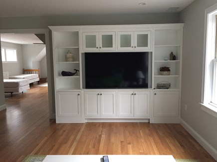 Chatham Cape Cod vacation rental - Second floor entertainment center