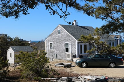 Truro Cape Cod vacation rental - House shed, with Hopper House in view