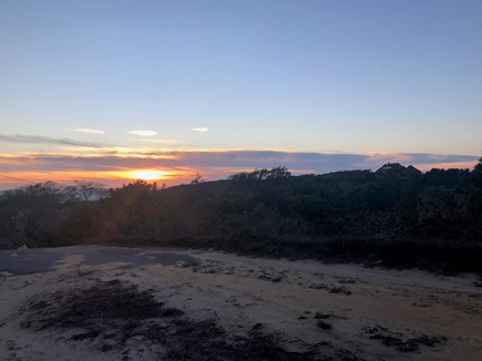 Truro Cape Cod vacation rental - Sunset view
