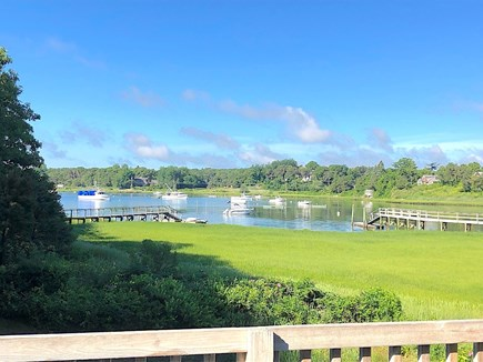 Chatham Cape Cod vacation rental - Bring your boat and tie it up at the dock on scenic Ryder's Cove