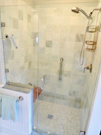 Chatham Cape Cod vacation rental - Luxurious step-in shower in master private bath
