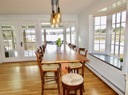 Chatham Cape Cod vacation rental - Large dining table will seat everyone comfortably.