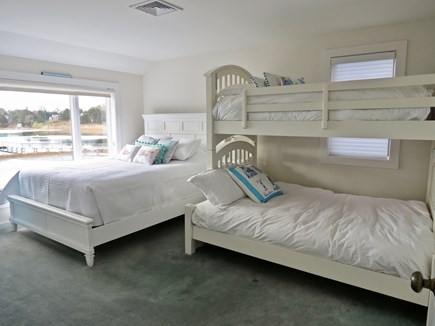 Chatham Cape Cod vacation rental - Queen bedroom with bunk beds as well
