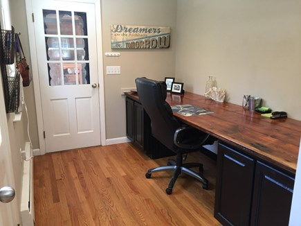 East Orleans Cape Cod vacation rental - Desk area - perfect for puzzles!