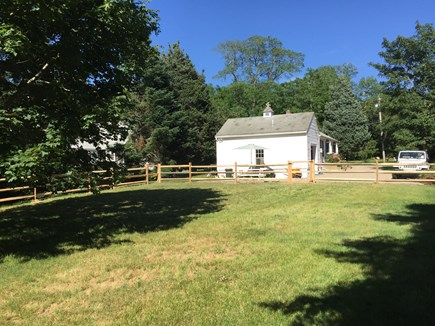 East Orleans Cape Cod vacation rental - Fenced in backyard