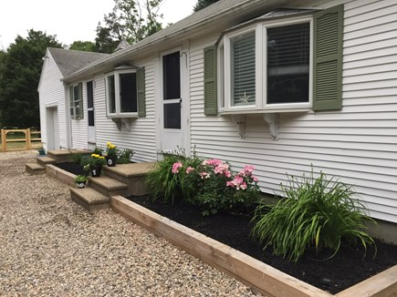 East Orleans Cape Cod vacation rental - Front entry