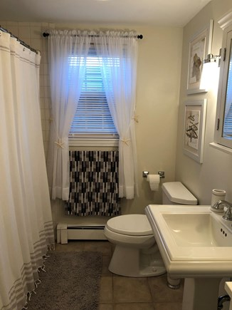 South Yarmouth Cape Cod vacation rental - Downstairs bathroom