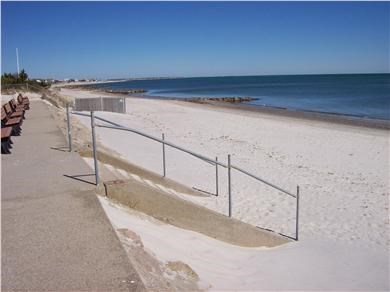 South Yarmouth Cape Cod vacation rental - Seaview Beach across the street
