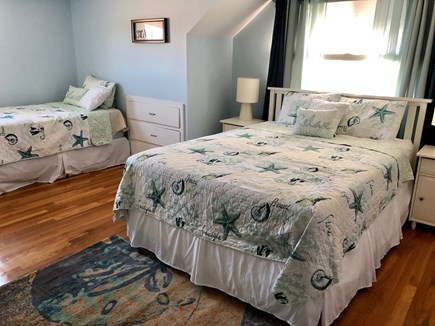 South Yarmouth Cape Cod vacation rental - Upstairs Queen Bedroom with extra twin bed