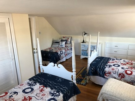 South Yarmouth Cape Cod vacation rental - Upstairs Bedroom with 3 twin beds