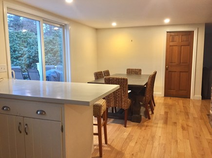 ORLEANS Cape Cod vacation rental - Look from kitchen toward dining area