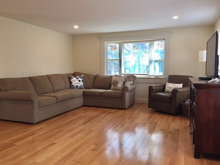 ORLEANS Cape Cod vacation rental - Living Area - Will Have Wall Decor, Sea Grass Rug & Coffee Table