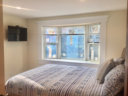 ORLEANS Cape Cod vacation rental - First Floor Bedroom with Queen and TV (Aprx. 70 SF)