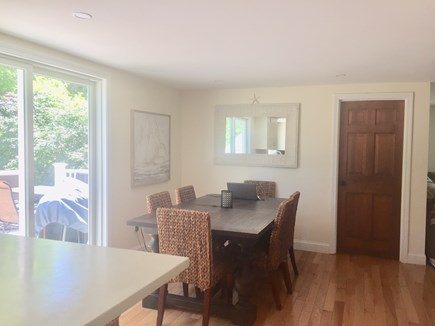 ORLEANS Cape Cod vacation rental - Look from Kitchen at Dining Area