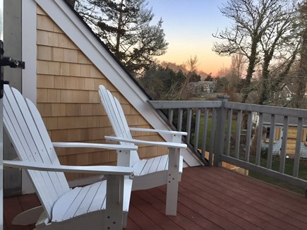 ORLEANS Cape Cod vacation rental - Master Bedroom Balcony Deck