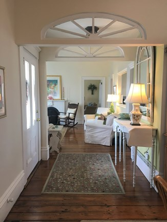 Hyannis Cape Cod vacation rental - Side entrance brings you into the living room area
