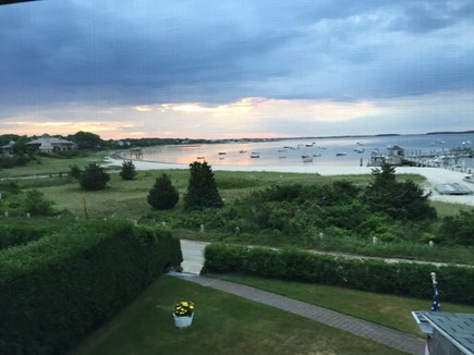 Hyannisport Cape Cod vacation rental - View from porch of Nantucket Sound