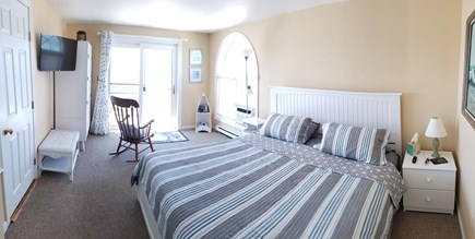 Truro Cape Cod vacation rental - New king bed in master. Wake up to a view of the bay.