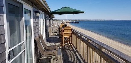 Truro Cape Cod vacation rental - Sit in the shade and enjoy the view of Truro and Wellfleet.