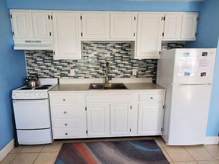 Truro Cape Cod vacation rental - Galley kitchen.