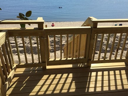 Truro Cape Cod vacation rental - Stairs to your private beach