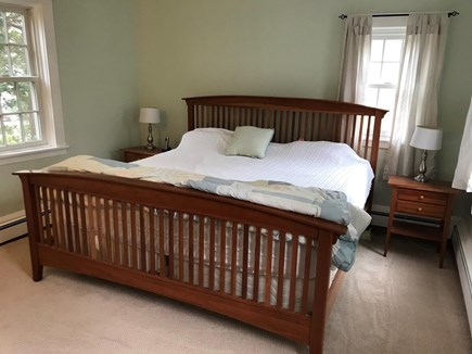 West Barnstable Cape Cod vacation rental - First floor private master bedroom