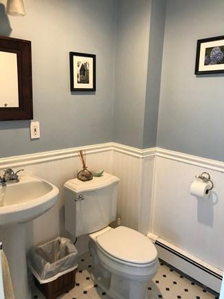 West Barnstable Cape Cod vacation rental - First floor hallway half bathroom