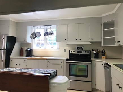 West Barnstable Cape Cod vacation rental - Kitchen area with updated appliances