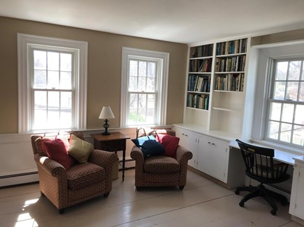 West Barnstable Cape Cod vacation rental - Enjoy a cup of coffee or a good book in the sunny front room