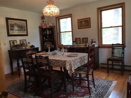 Wellfleet Cape Cod vacation rental - Formal dining room that can seat 6-8