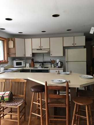 Wellfleet Cape Cod vacation rental - Kitchen with convenient layout and all appliances