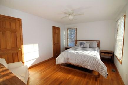 Wellfleet Cape Cod vacation rental - First floor bedroom with queen and ensuite bathroom