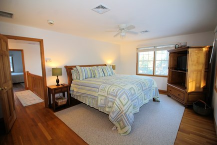 Wellfleet Cape Cod vacation rental - Second floor master with king and ensuite bathroom