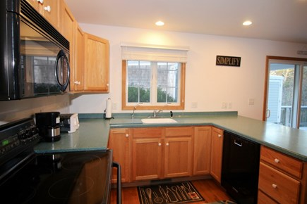 Wellfleet Cape Cod vacation rental - Well-equipped kitchen with plenty of counter space