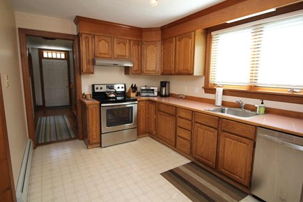 Wellfleet Cape Cod vacation rental - Well-equipped kitchen with stainless appliances