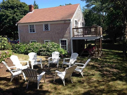 South Chatham Cape Cod vacation rental - Seating area with Barn