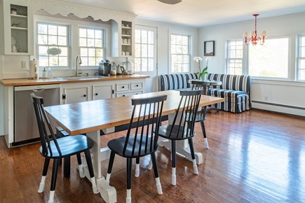 South Chatham Cape Cod vacation rental - Kitchen/ Dining Area