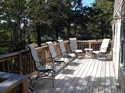 South Chatham Cape Cod vacation rental - Sun Deck on Barn