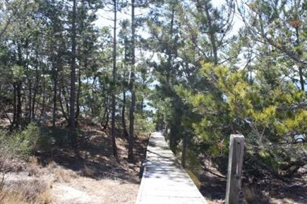 Wellfleet Cape Cod vacation rental - Private stairway to the beach