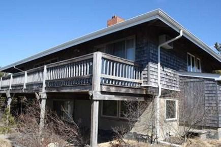 Wellfleet Cape Cod vacation rental - Wrap around deck with amazing views!!