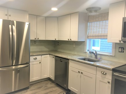West Yarmouth Cape Cod vacation rental - Fully equipped kitchen with new appliances and counter seating
