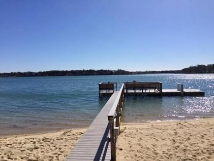 South Yarmouth Cape Cod vacation rental - Dock 2 at private neighborhood association beach.