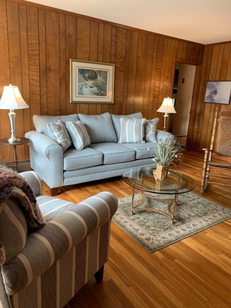 South Yarmouth Cape Cod vacation rental - Beautiful Living Room with gleaming hardwood floors.