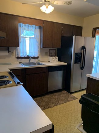 South Yarmouth Cape Cod vacation rental - Kitchen which opens to adjacent Family Room.