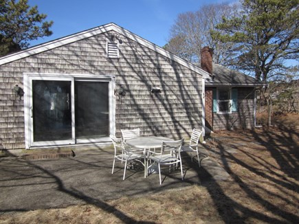 Bass River - South Yarmouth Cape Cod vacation rental - Back of house prior to remodel