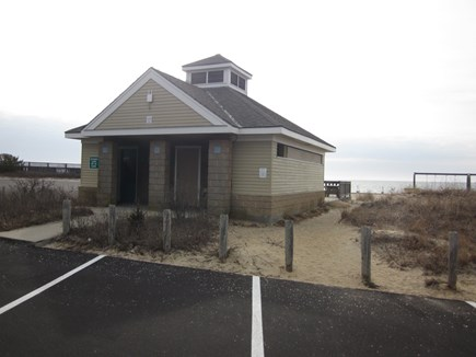 Bass River - South Yarmouth Cape Cod vacation rental - Parker's River Beach (2/10) Restroom facilities
