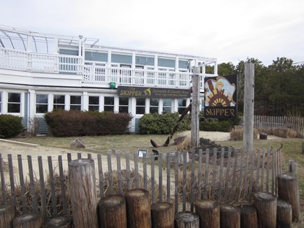 Bass River - South Yarmouth Cape Cod vacation rental - Skipper's Restaurant and Take out Ice Cream across from Beach