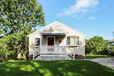 South Yarmouth Cape Cod vacation rental - Street view of cottage