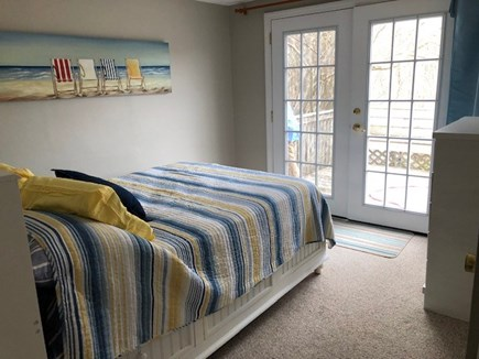 South Yarmouth Cape Cod vacation rental - Second bedroom with full bed and marsh views