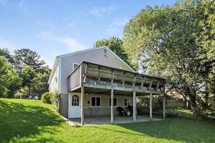 South Yarmouth Cape Cod vacation rental - Deck and patio underneath